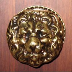 Tirador cabeza leon base grande 35-001