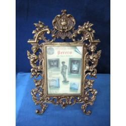 Porta retrato en bronce cuadrado 36-003