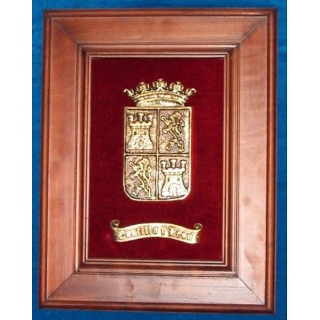 Escudo Castilla y León con Marco REF:112