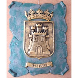 Escudo de Castilla con Pergamino