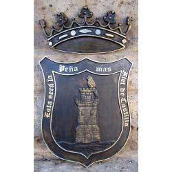 Escudo Medina de Rioseco con Marco