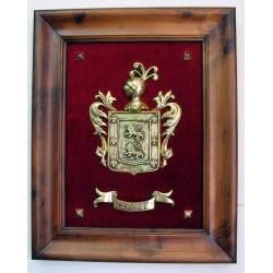 Escudo Heráldico Simple grande 17-002