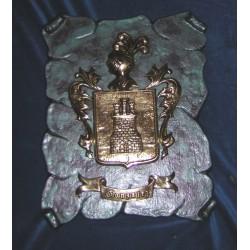 Escudo Heráldico Simple grande pergamino 17-003