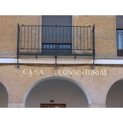 Letrero Casa consistorial 22-001